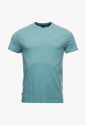 VINTAGE LOGO EMB - Basic T-shirt - sage marl
