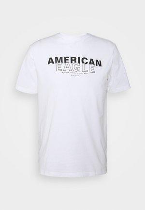 TEE BRAND - Print T-shirt - white
