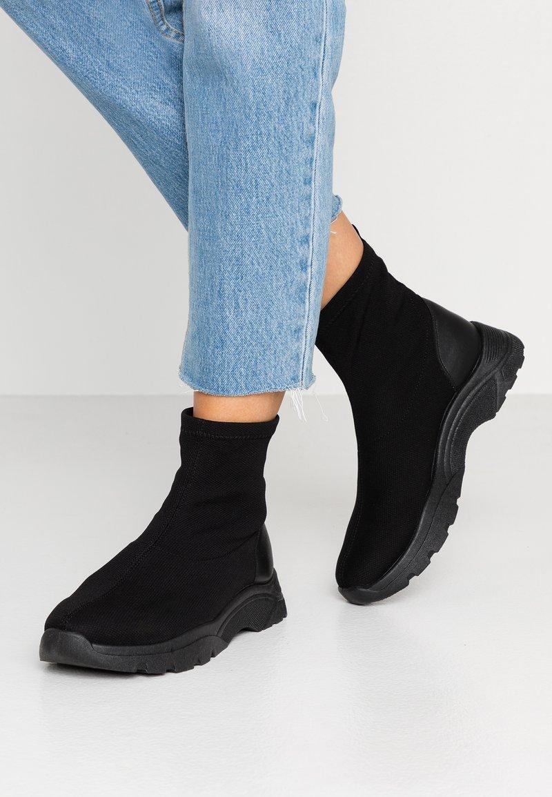 Miss Selfridge - THEO - Sneakers high - black