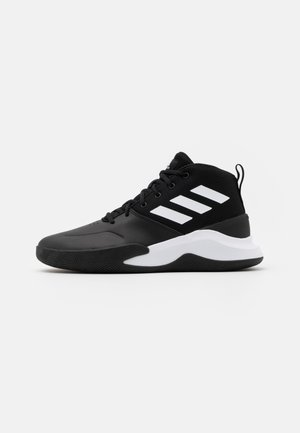 OWNTHEGAME - Basketball shoes - core black/footwear white