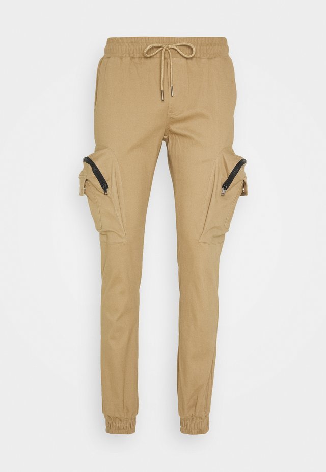 UTILITY PANTS - Cargo trousers - sand