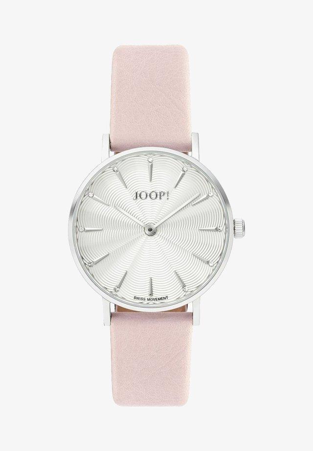 Klocka - rosa