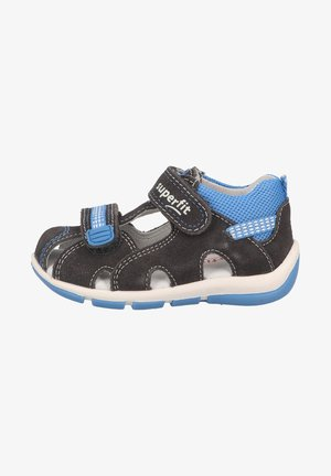 First shoes - hellgrau blau