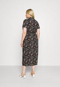 Vero Moda Curve - VMSIMPLY EASY LONG - Maxi dress - black - 2