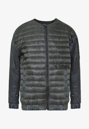 TERREX HIKE BOMBER JACKET - Down jacket - grey six