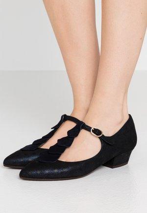 RODA - Classic heels - amira navy/noce