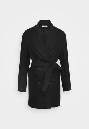 JOSEFA COAT - Classic coat - schwarz