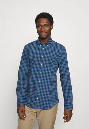BUTTON DOWN LONG SLEEVE INSERTED - Vapaa-ajan kauluspaita - multi/kashimir blue