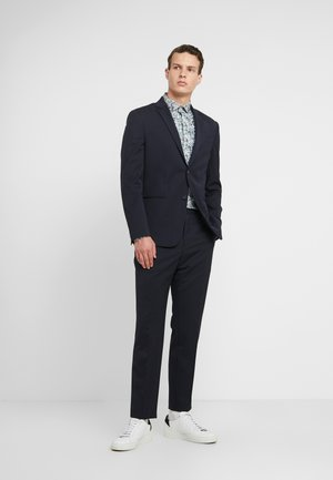 TRAVEL BI-STRETCH TWILL SLIM SUIT - Suit - blue