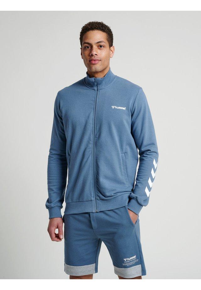 HMLISAM  - Sweatjakke /Træningstrøjer - china blue
