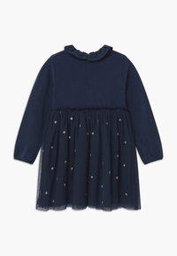 Benetton - Jersey dress - dark blue - 1