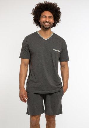 SET - Pyjama set - grau