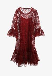 Madam-T - Cocktail dress / Party dress - weinrot - 6