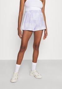 Monki - ZOE 2 PACK - Shorts - purple/yellow dusty light - 3