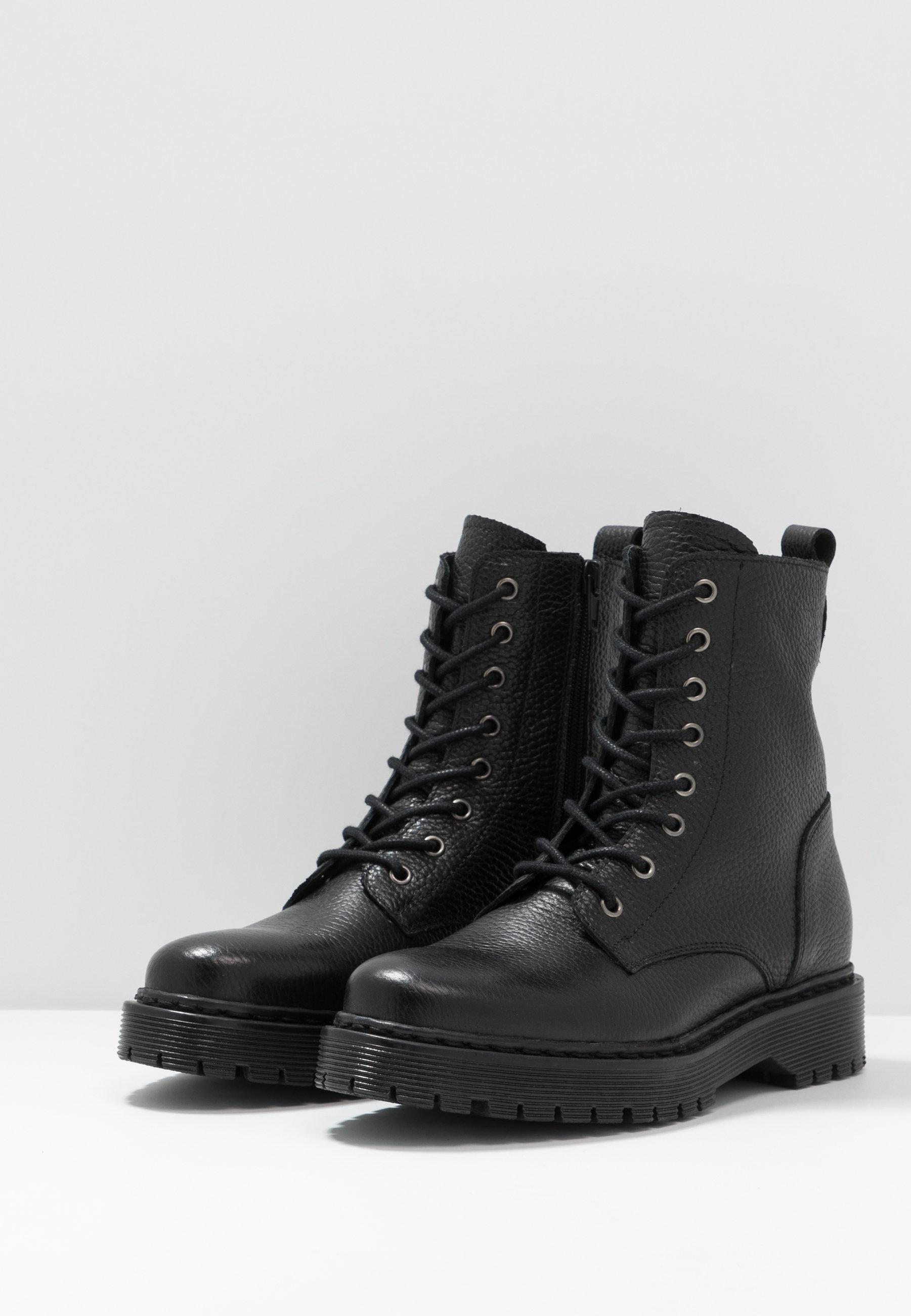 Zign Schnürstiefelette - black | Damen Schuhe 2020