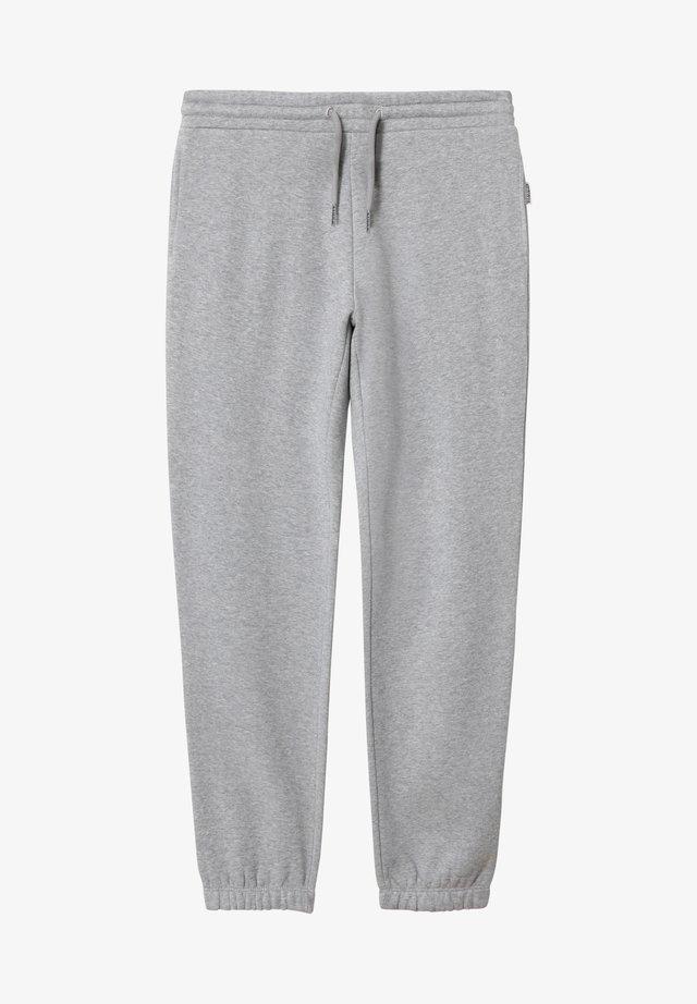 MEBEL - Pantalones deportivos - medium grey melange