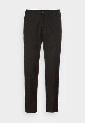 MONZA FIN PANT - Spodnie materiałowe - black