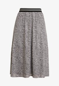 comma casual identity - LANG - A-line skirt - brown - 3