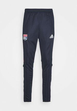 OLYMPIQUE LYON AEROREADY FOOTBALL PANTS - Klubové oblečení - legend ink
