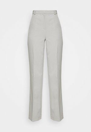 STRAIGHT LEG SUIT TROUSERS - Trousers - grey