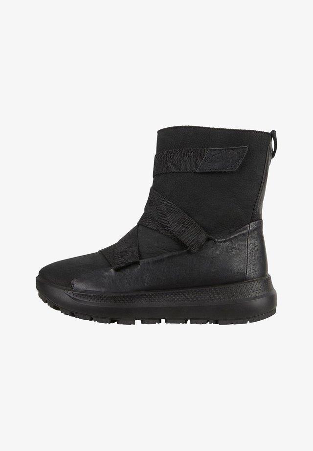 SOLICE W HIGH DYN - Høje støvler/ Støvler - black/black