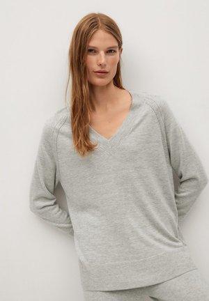 NANTES - Pullover - light heather grey