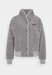 Patagonia - SNAP FRONT RETRO - Fleecejacke - salt grey - 0