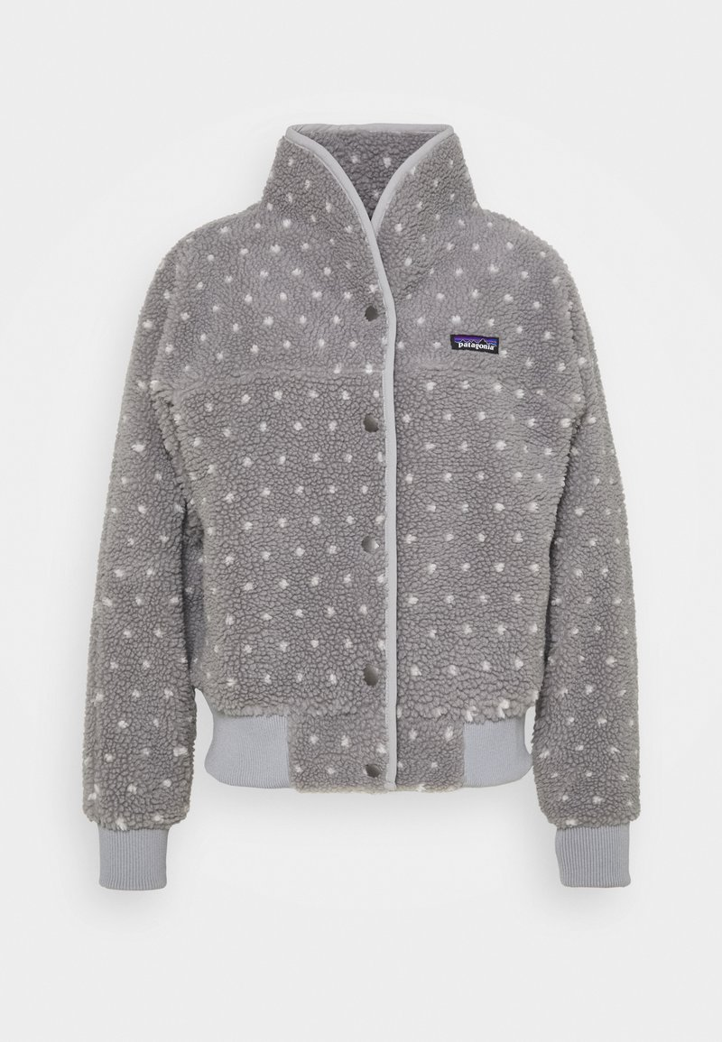 Patagonia - SNAP FRONT RETRO - Fleecejacke - salt grey