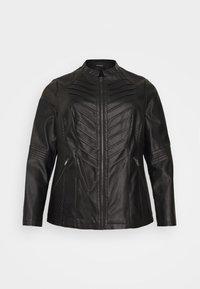 Evans - JACKET - Faux leather jacket - black - 6