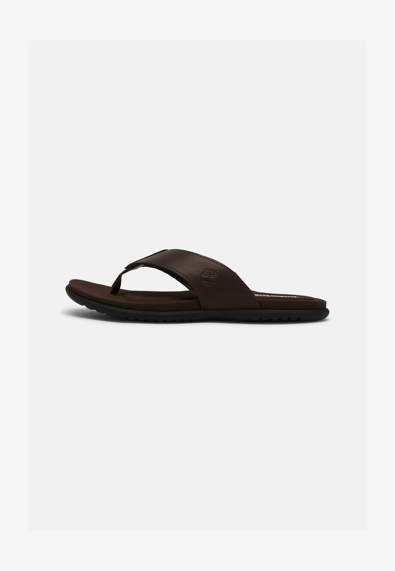 Timberland - KESLER COVE - T-bar sandals - dark brown
