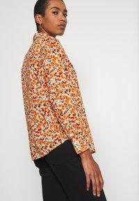 Benetton - Button-down blouse - orange - 3