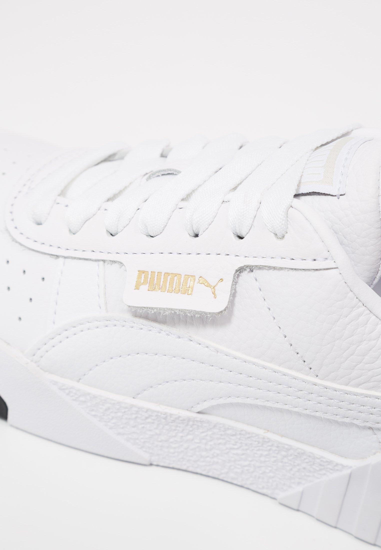 Puma CALI - Baskets basses - white/black/blanc - ZALANDO.FR
