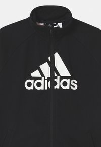 adidas Performance - SET UNISEX - Tracksuit - black/core green/white - 3