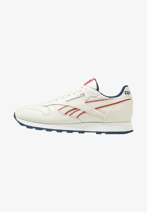 CLASSIC LEATHER LOW-CUT DESIGN SHOES - Sneakers - chalk/navy/red/white