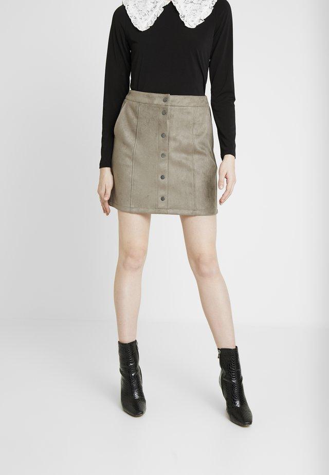 VMDONNARAY SHORT SKIRT - A-line skirt - bungee cord