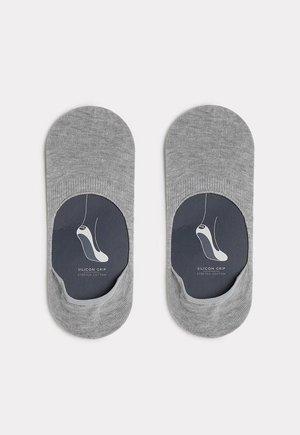 FÜSSLINGE AUS STRETCH-BAUMWOLLE - Trainer socks - grigio felpa