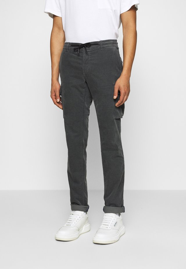 CHILE - Pantalon cargo - grey
