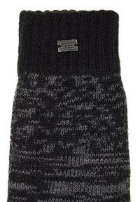 camel active - Gloves - grey/black - 2