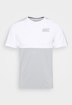 DRY - T-shirt imprimé - smoke grey/light smoke grey