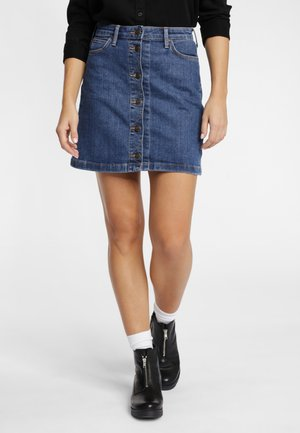 Denim skirt - stonewash