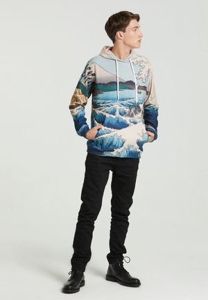 THE SEA OF SATTA  - Hoodie - beige