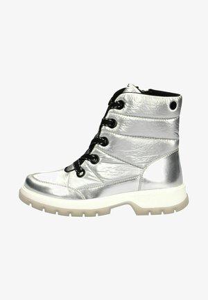 Winter boots - silver/black c
