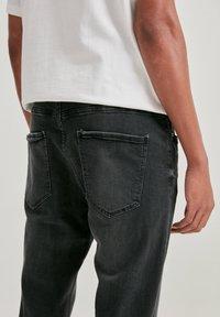 PULL&BEAR - Slim fit jeans - mottled dark grey - 3