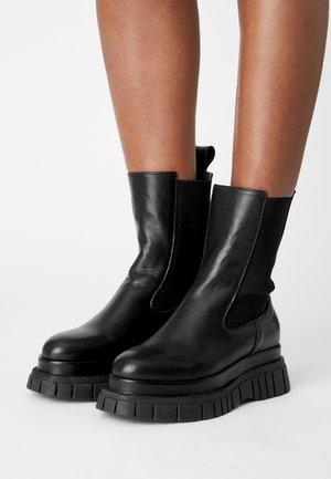 MORI - Platform ankle boots - nero