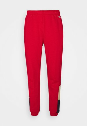 Tracksuit bottoms - rouge/viennois marine