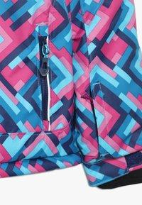 Kamik - TESSIE GRID - Vinterjacka - turquoise/neon pink - 5