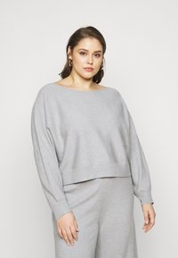 Even&Odd Curvy - SET - Neule - mottled light grey - 4