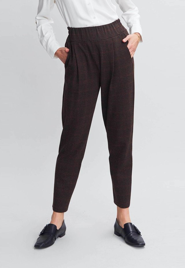 Trousers - gingham