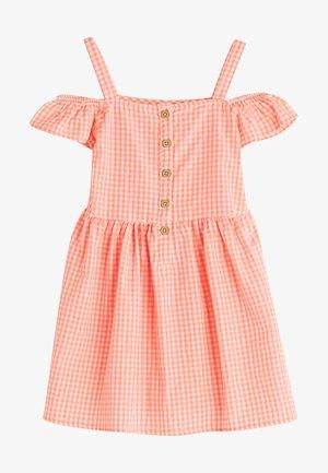 Day dress - sugar pink strip