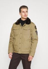 Schott - JEEPER - Winter jacket - beige - 0